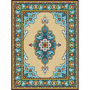Akira - The traditional hand made indoor rug