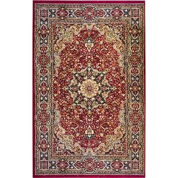 Fola - The beautiful red indoor area rug