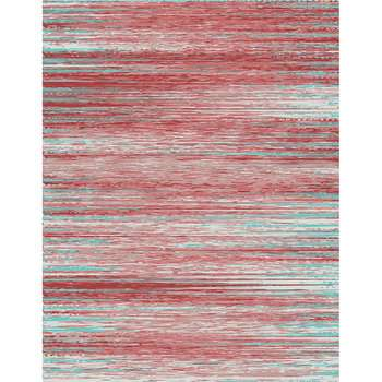 Hurihia - The contemporary red indoor rug