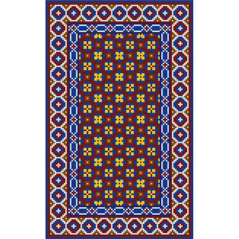 Sehkyinn - The colorful hand woven area rug