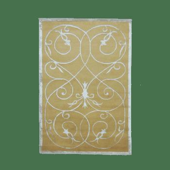 Vid - A symmetrical design area rug