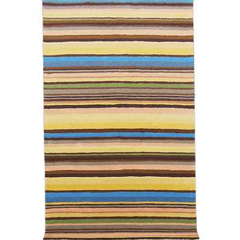 Calido - The stripped room area rug