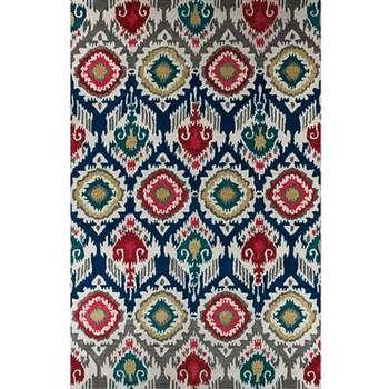 Luculentus - A bright colored rural design carpet