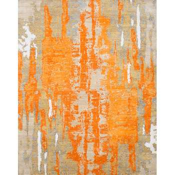 Sunset - The bright hand-woven indoor rug