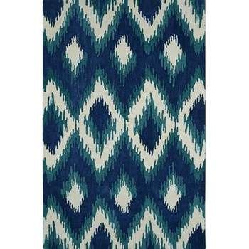 Regius - The royal blue classical indoor rug
