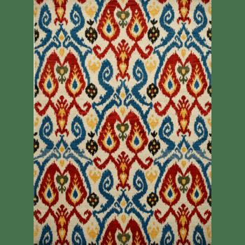 Almera - The rural designed living area rug