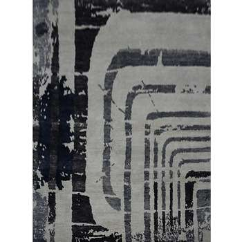 Shtab - The abstract contemporary throw rug