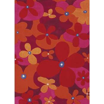 Clover - The floral indoor area rug for bedroom