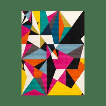 Prizma - The colorful bedroom area rug