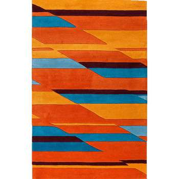 Aurora - The bright color indoor area rug