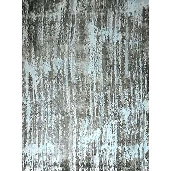 anoliya - the contemporary blue gray rug