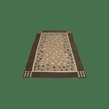 bruni - contemporary brown rug