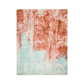 duetas - the blue brown contemporary rug