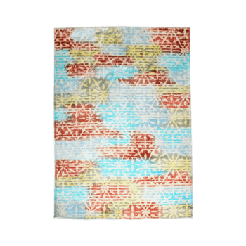 tinctura - the abstract colorful indoor area rug