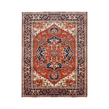 ellyn - a traditional persian bedroom rug