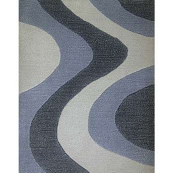 krzywa - a simple contemporary bedroom carpet