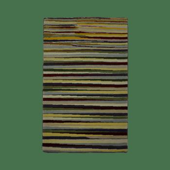 linya - simple colorful indoor area rug