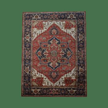 liyana - the traditional colorful bedroom rug