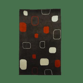 ntuchi - the modern indoor brown rug
