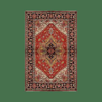 ora - a traditional bedroom area rug