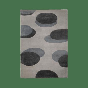 piiri - simple modern brown area rug