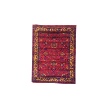 sana - the traditional persian red rug