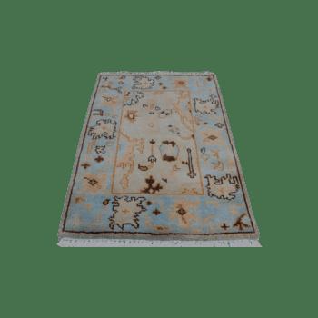saraha - a traditional woolen bedroom rug