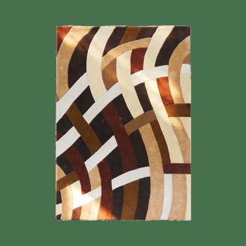 java - the simple brown area rug