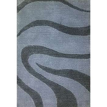 virage - a simple gray modern area rug
